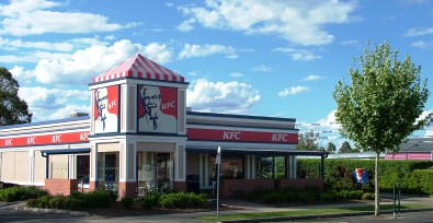 KFC - Side Front View