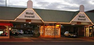 inverell motel - outside
